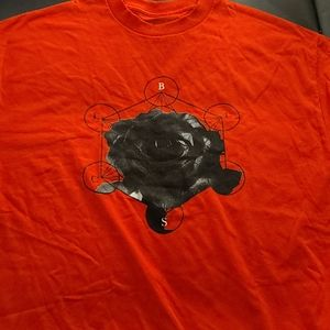 NWOT BLVCK SCVLE Black Rose Alchemy Tee